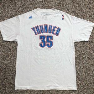 Oklahoma City Thunder Kevin Durant t-shirt L